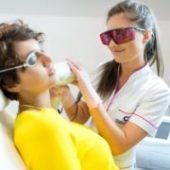 usuwanie wąsika laserem